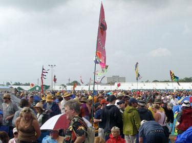 Jazzfest crowd