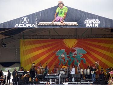 Stevie Wonder at Jazzfest