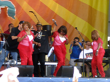 The Dixie Cups at Jazzfest