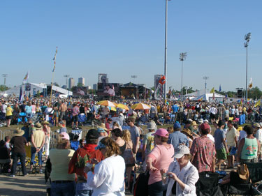 The Neville Brothers close Jazzfest
