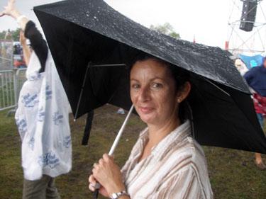 Sheila in the rain