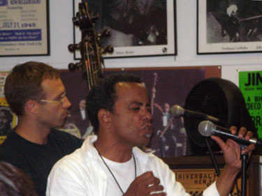 John Boutte at Louisiana Music Factory