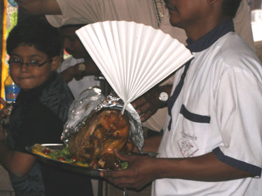 Christmas turkey take-away