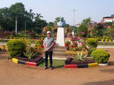 Derek in Municipal Gardens