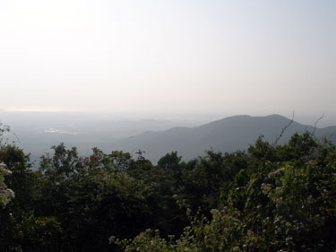 View of beaches from Chandranath Hill