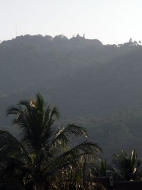 Temple on top of the hill