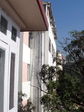 View towards Taj Mahal Hotel