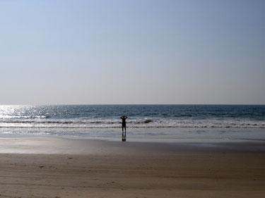 Derek on the beach