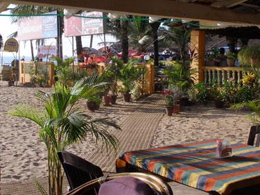 Pedro's beachside restaurant