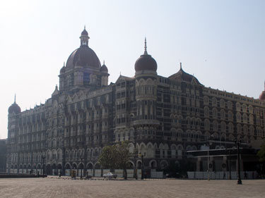 Taj Mahal Palace Hotel from the Gateway