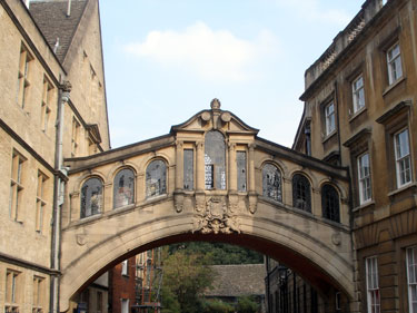 Bridge buetween buildings