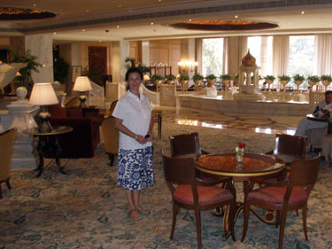 Taj Mahal Hotel lobby