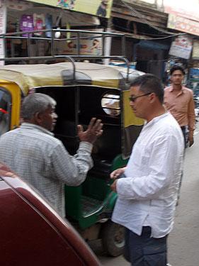 Karma & rickshaw driver