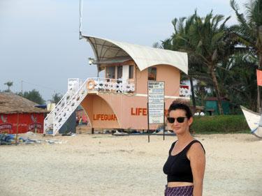 Lifeguard shack