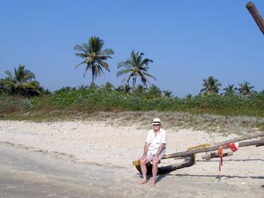 Derek at beach