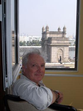 Derek at window